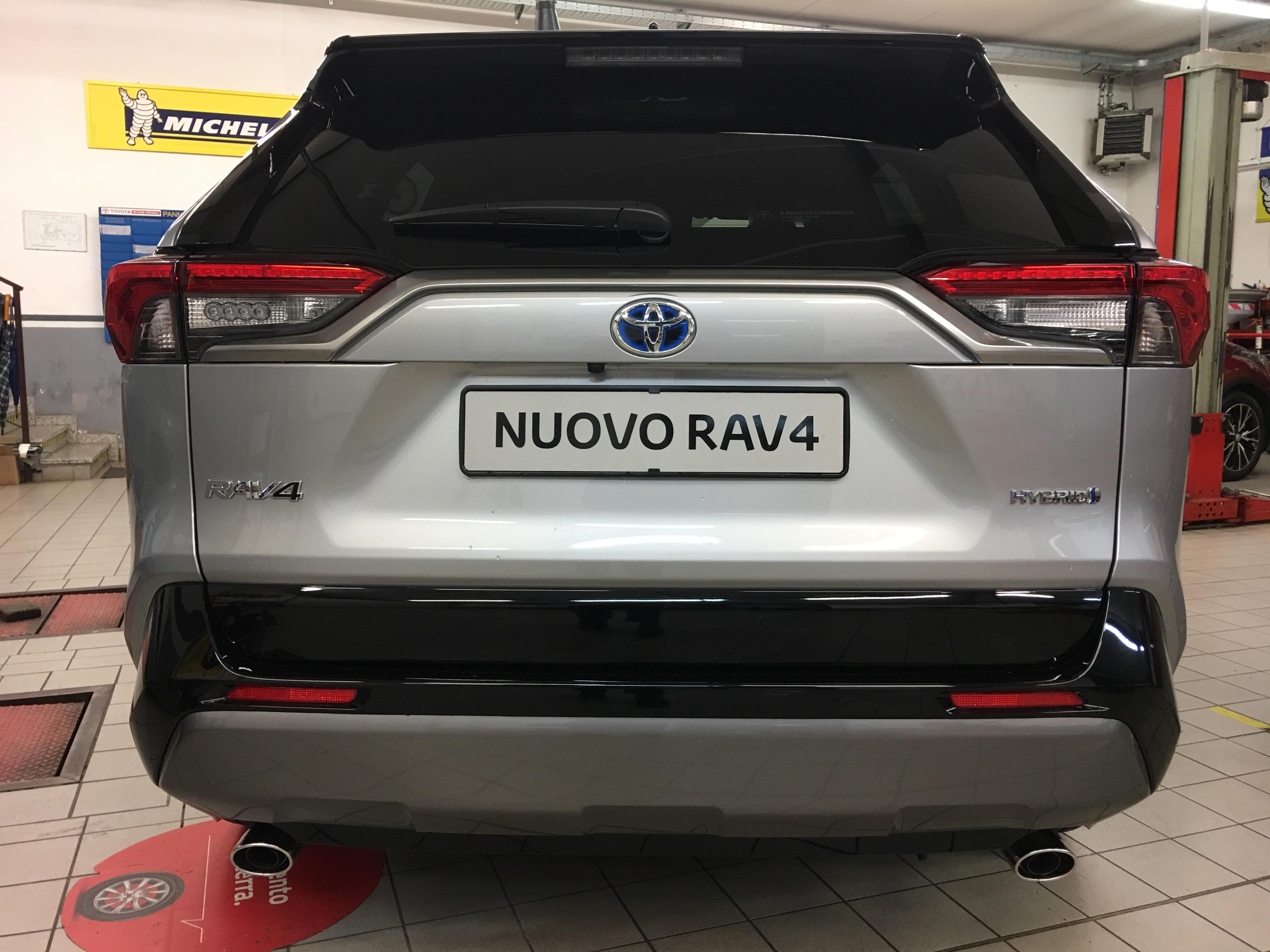 Foto del Nuovo RAV4 Hybrid 2019