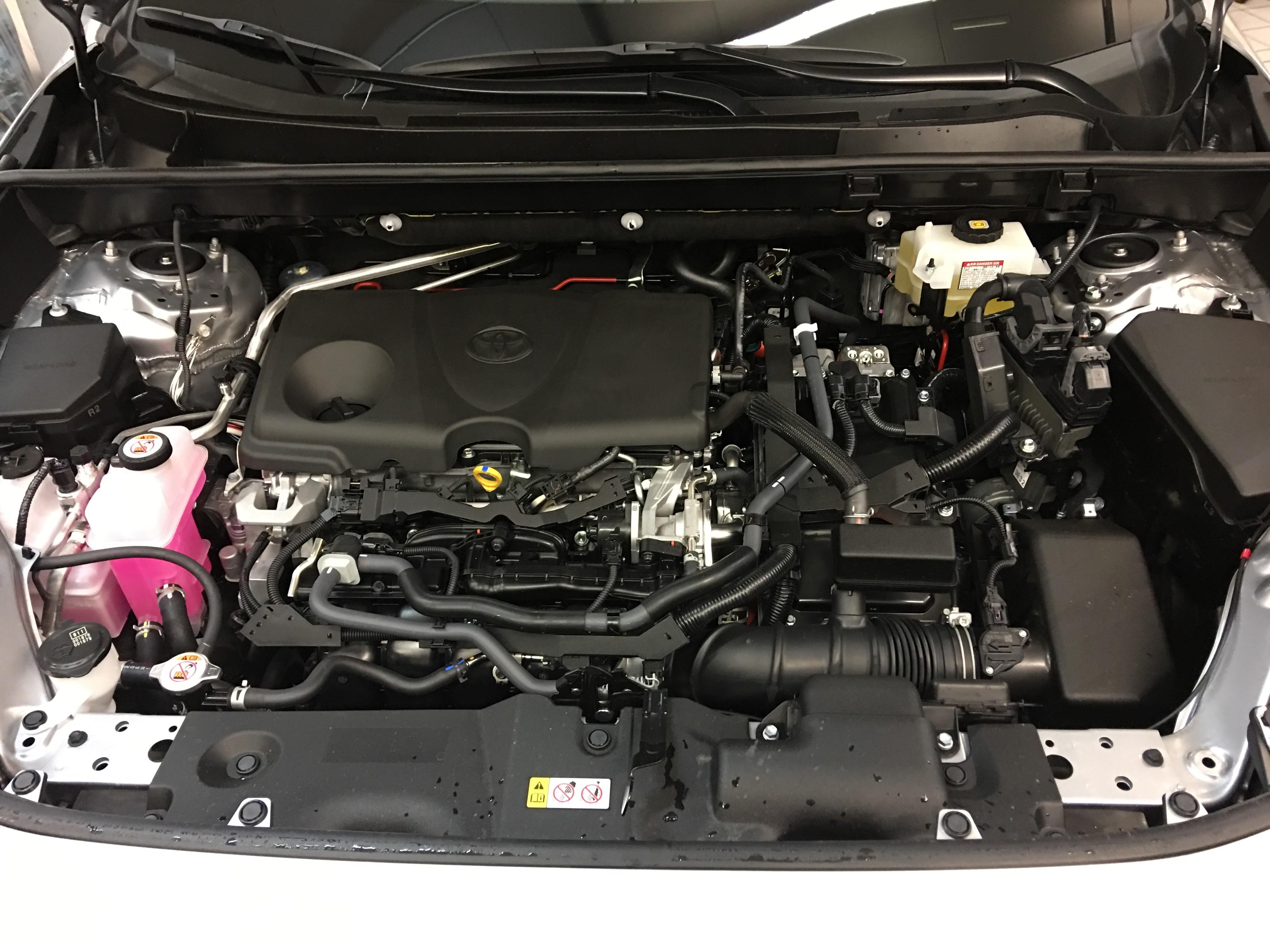 Motore Nuovo RAV4 Hybrid 2019