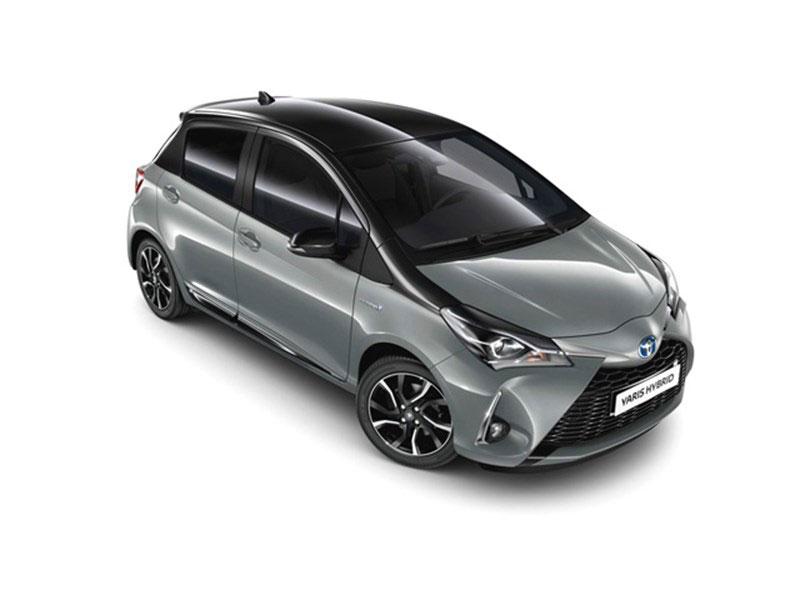 Foto della Toyota Yaris Hybrid 2018 Grey edition