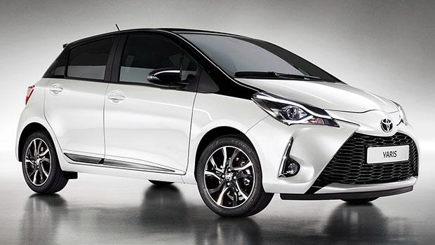 Foto della Toyota Yaris Hybrid 2018 white edition