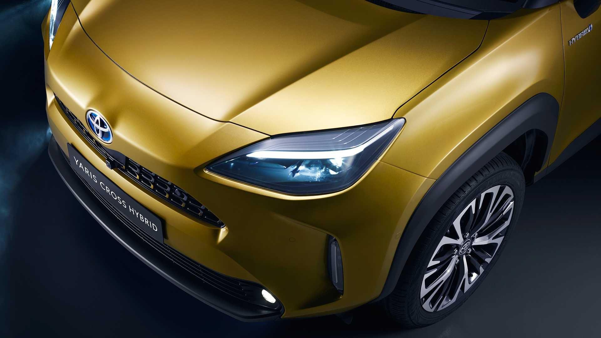 Fari Led della Toyota Yaris Cross 2021