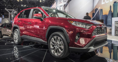 Foto dalla presentazione a NewYork del Nuovo Toyota RAV4 hybrid 2019