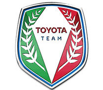 stemma badge toyota team limited edition