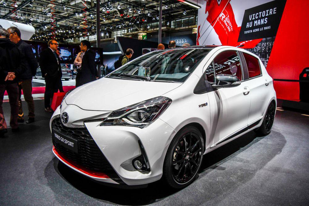 Foto della Toyota Yaris GR-S daventi