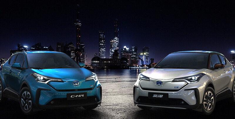 Toyota Chr elettrico 2021