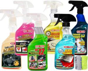 kit pulizia auto interno esterno