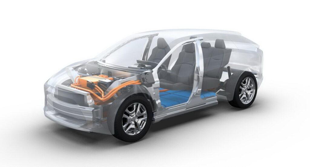Toyota e-TNGA nuova piattaforma modelli elettrici